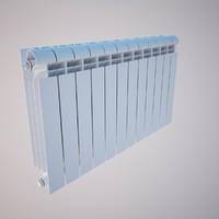 radiator heater 3d 3ds