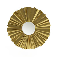 3d model tarentaise 50-2366 gold mirror