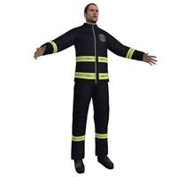 3d model paramedic 2