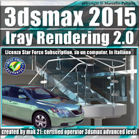3ds max 2015 Iray Rendering e String Option Volume 2.0 Subscription