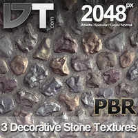 3 Decorative Stone Textures