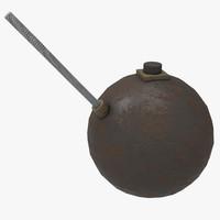 lingg bomb 3d model