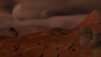 Planetary Scenario Mars Planet Alien