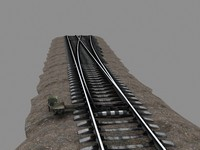3ds max russian railway switch
