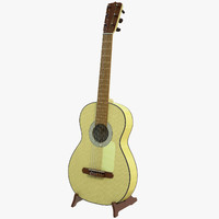 jose ramirez guitar stand 3d model