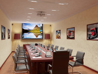 interior meeting room x