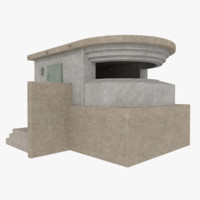 3d 3ds coastal ridge line bunker
