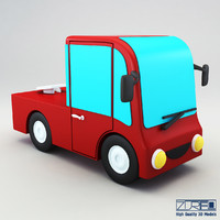 3d model truck v 2