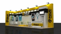 3ds max fair stand exhibition