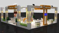 Little Caesars Exhibition Stand