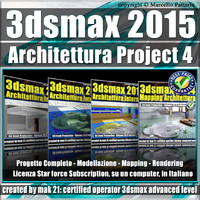 3ds max 2015 Architettura Project 4 Subscription