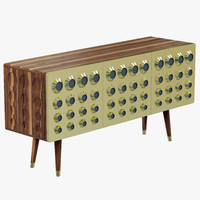 delightfull monocles sideboard 3d model