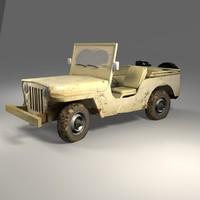 jeep km 3d max