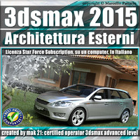 2015 architettura esterni subscription 3d 3ds