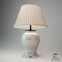 eichholtz table lamp halston 3d max
