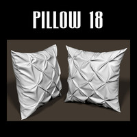 3d pillow interiors model