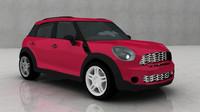 3d model of mini car auto