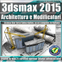 3ds max 2015 Architettura e Modificatori Subscription