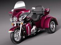 3d model harley davidson 2015