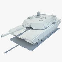 3d m1a1 abrams tank