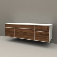modern sideboard 3ds