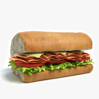 Sub Sandwich Half