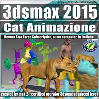 3ds max 2015 Cat Animazione Subscription