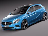 3d 2015 mercedes-benz eco model