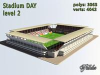 3d stadium level 2 model