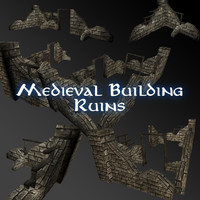 3ds max ruins buildings