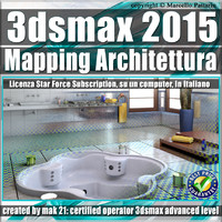 3ds max 2015 Mapping Architettura vol.33 Subscription