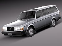 3d estate 1993 240 model
