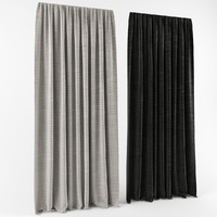 3ds max curtains modern style