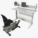 elliptical trainer 3D models