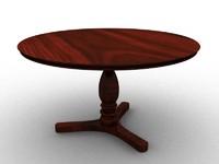3d circle table