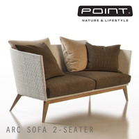 3ds max point arc outdoor 2-seater