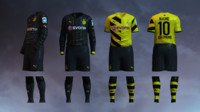 Borussia Dortmund 2014/2015 Jerseys