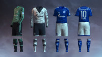 max soccer jersey fc schalke
