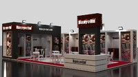 3ds max fair exhibition stand