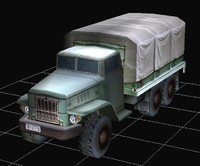 russian large truck 3d 3ds