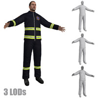 paramedic lod s 2 3d model