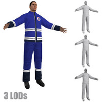 3d paramedic lod s model