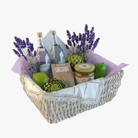 max realistic decor basket