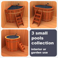 3d 3 small pools