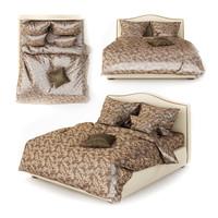 3d model bed linens