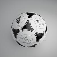 3d football ball 4 model