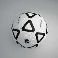 3dsmax football ball 6