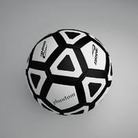 3d football ball 7