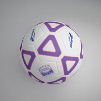 3d football ball 8