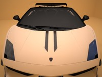 lamborghini gallardo spyder roadster 3d model